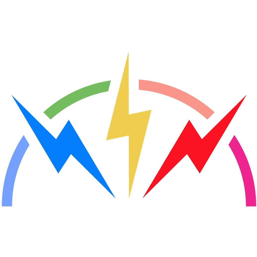 Create a fun and energetic logo for Rumble Glitter