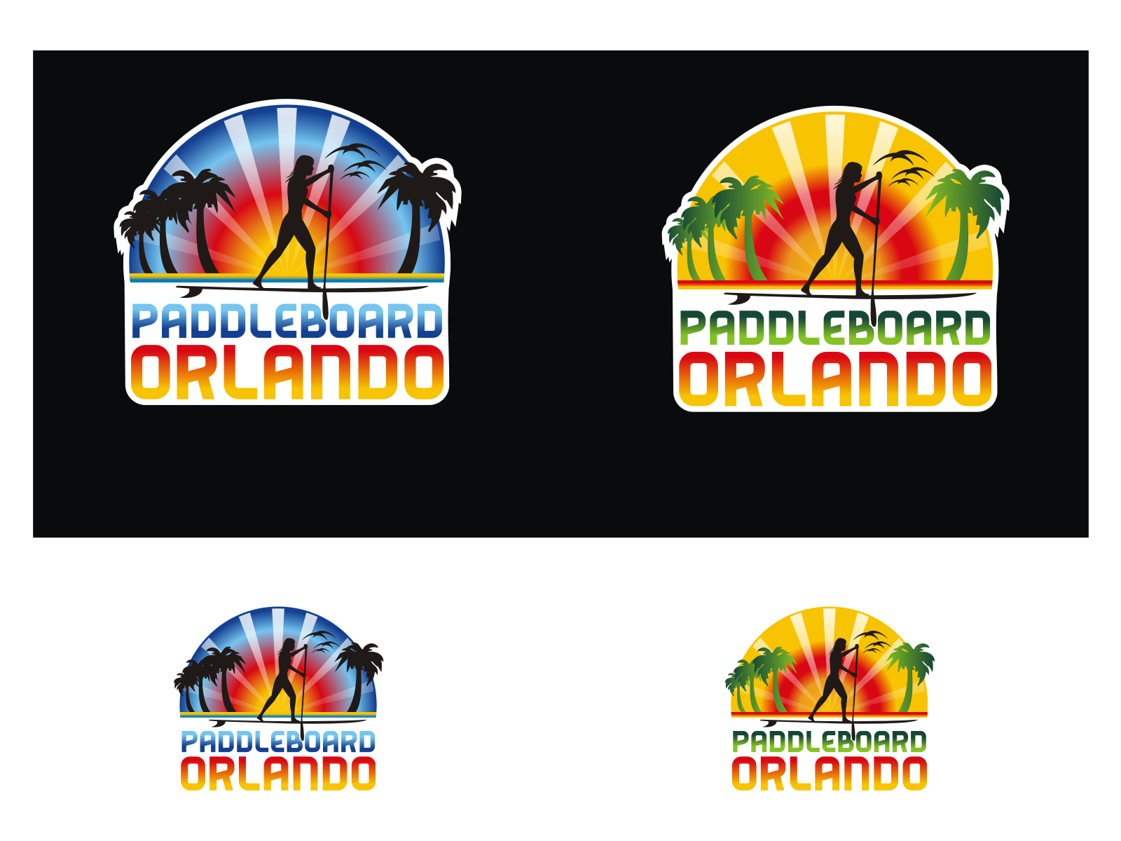 Create the next logo for Paddleboard Orlando