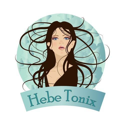 Logo Concept with Goddess