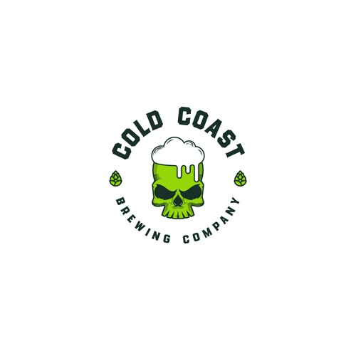 Logo concept for COLD Coast Brewing Company