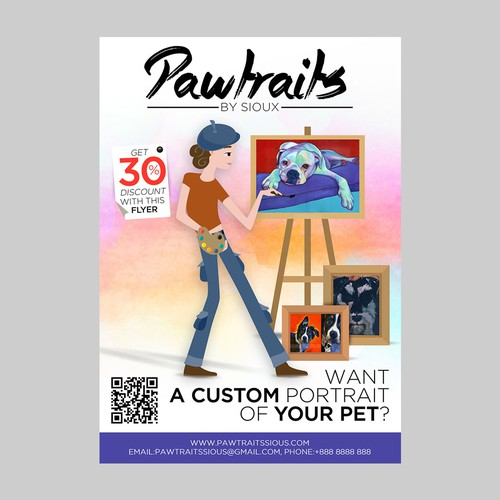 Poster Pawtraits by sioux