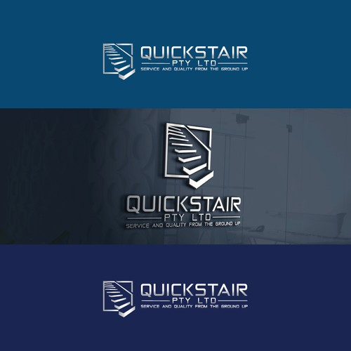 Logo concept for industrial stair company!