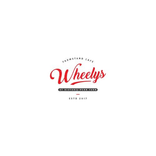 Logo for farmstand cafe Wheelys