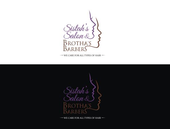 Sistah's Salon & Brotha's Barbers needs a new logo