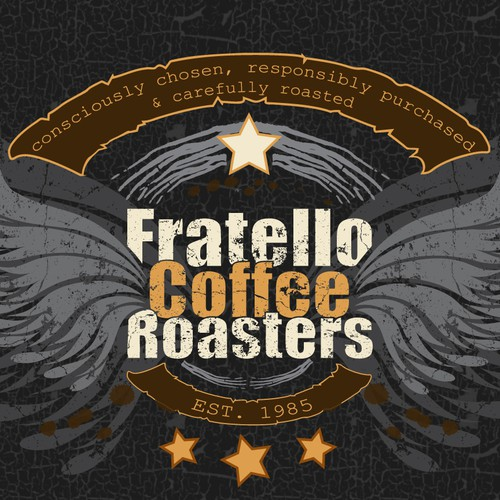 Killer Fratello Coffee T-shirt Design