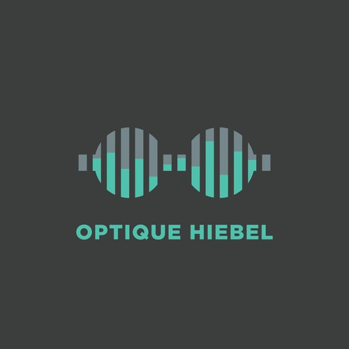 Logo for an optical and and earing care business