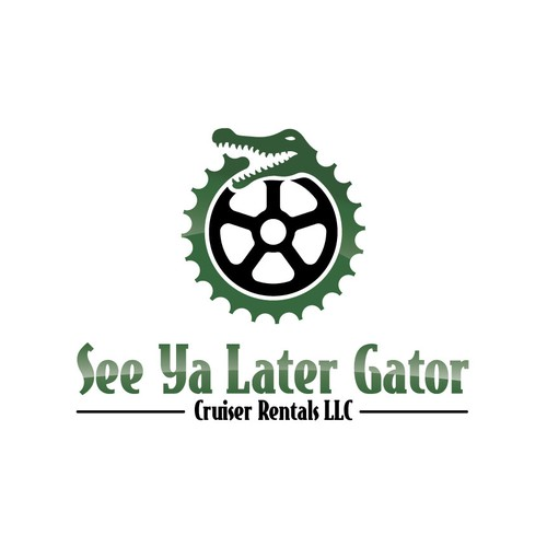 logo for See Ya Later Gator Cruiser Rentals LLC