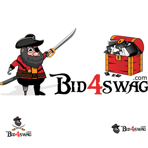 Create the next logo for Bid4swag.com