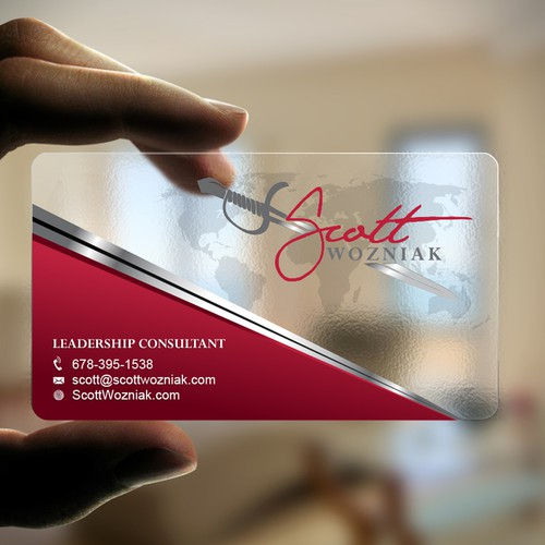 Transparent / Plastic Business Card