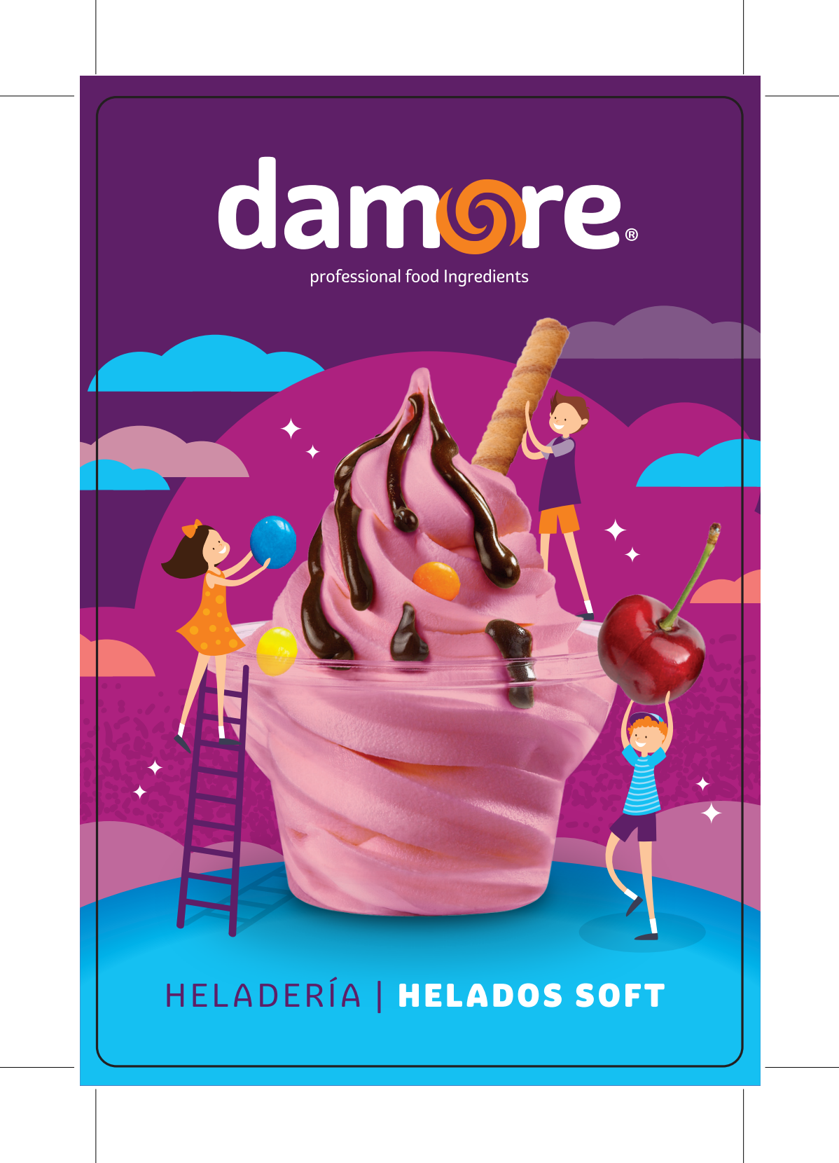 DAMORE Food Ingredients - Product Label