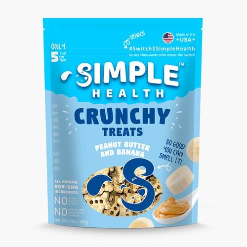 Crunchy Dog Treats Packaging