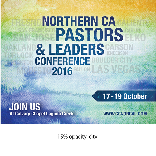 Post Card Design for Northern CA Pastors & Leaders Conference 2016