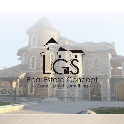 Logo Unique for LGS Real Estate Concept