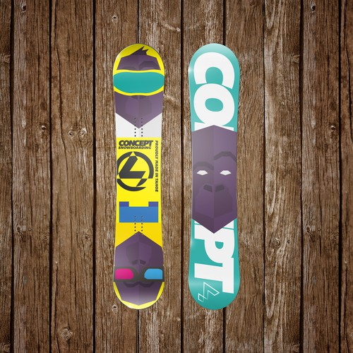 Concept Snowboarding, Custom snowboards with personal graphics