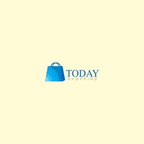 modern online shop logo