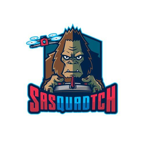 SasQUADtch Logo Design