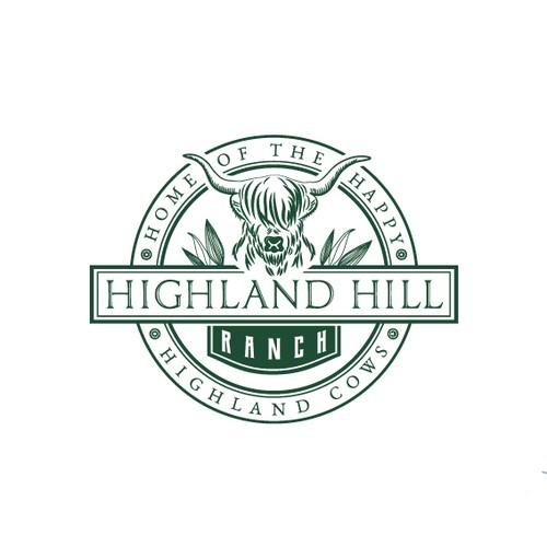 Highland Hill Ranch - Logo design