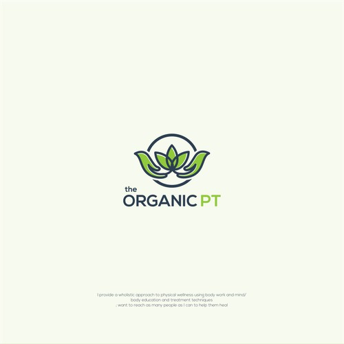 logo concept for the organic PT