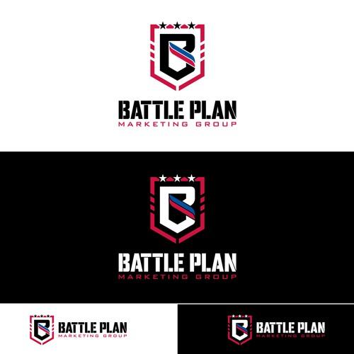 Logo design for Battle Plan Marketing Group