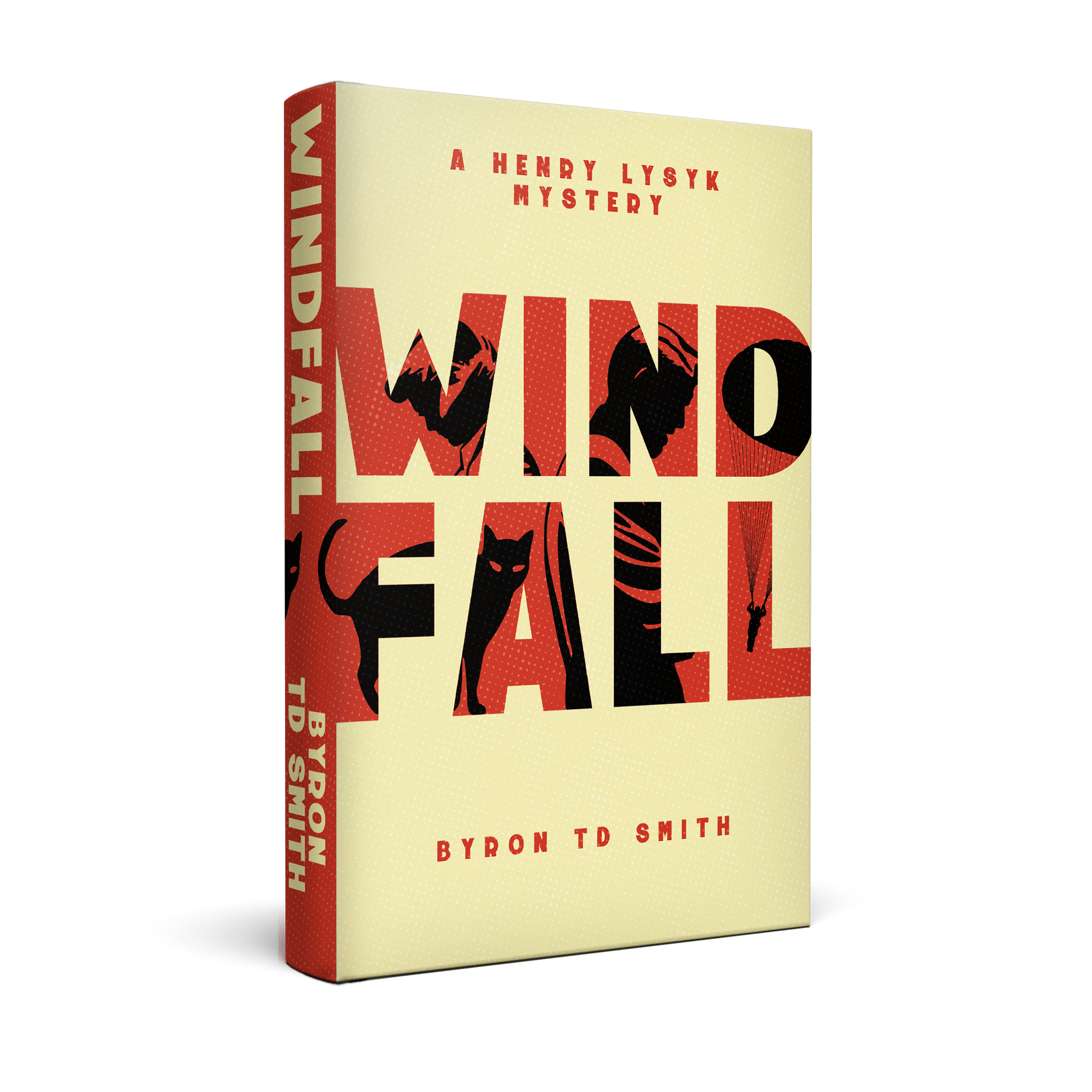 Windfall - cover my first novel!