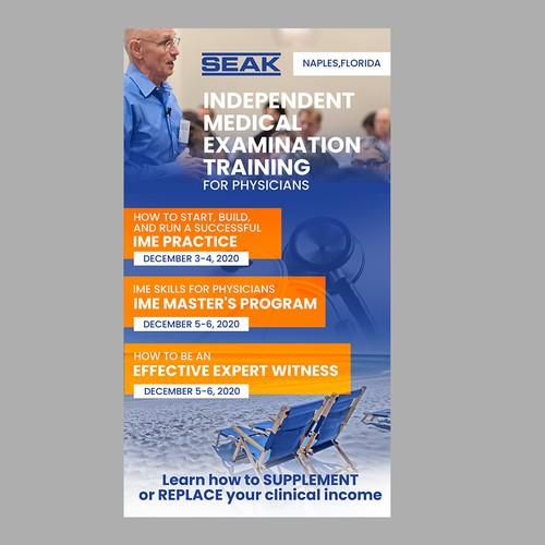 Flyer for SEAK Company Naples, Florida