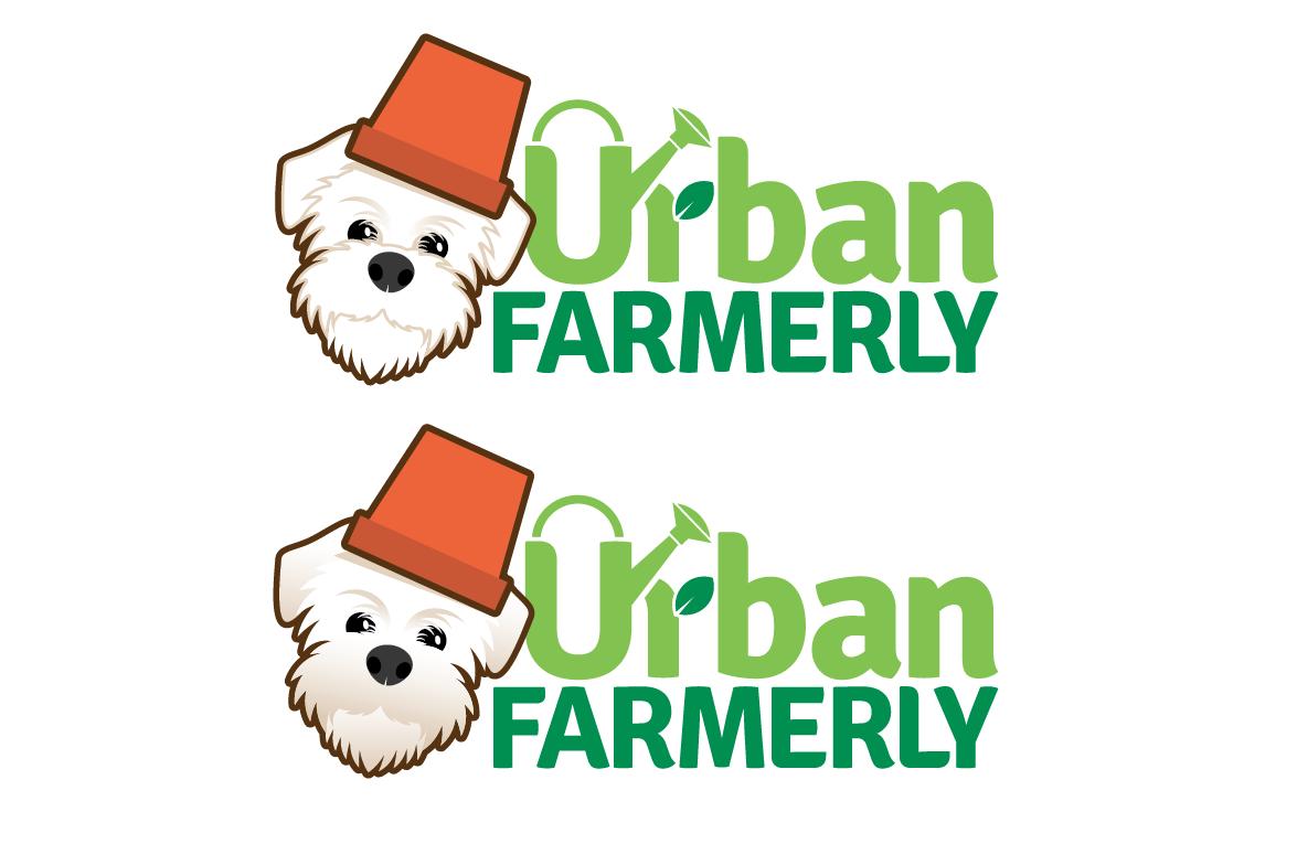 Urban farming with my dog