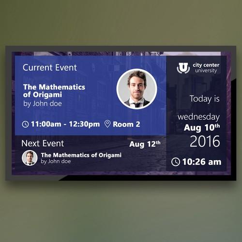 Engaging Digital Signage Board