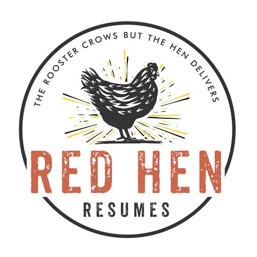 red hen logo
