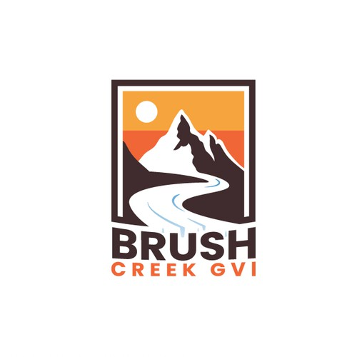 Brush Creek GVI Logo Design