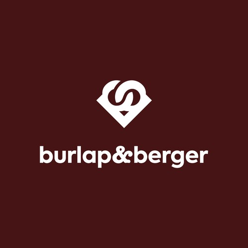 burlap and berger