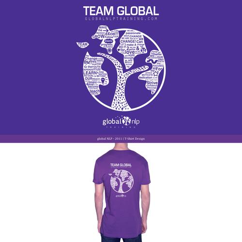 T-Shirt Design - Global NLP