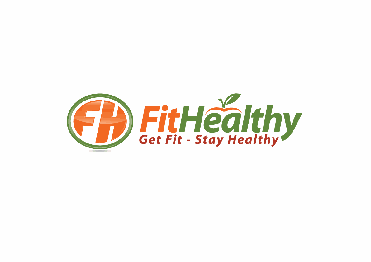 Simple Logo for FitHealthy - Easy for Good Designers