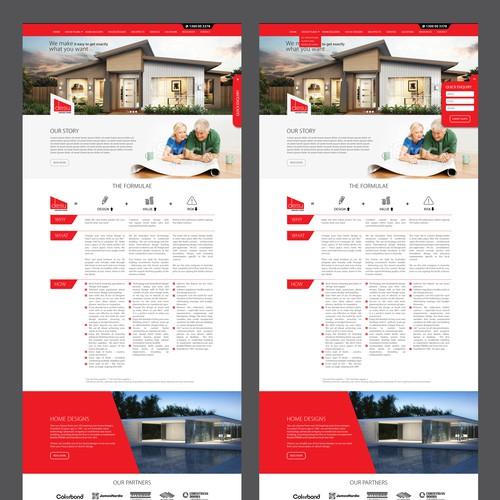 desu Website design