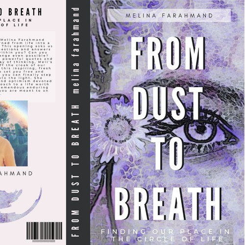 Book Cover Design Concept for From Dust To Breath