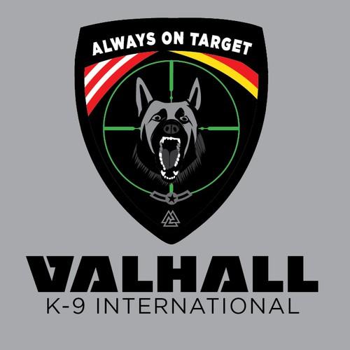 Logo Concept for Valhall K-9 International