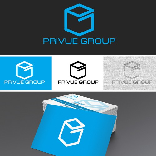 Help Privue Group with a new logo and business card