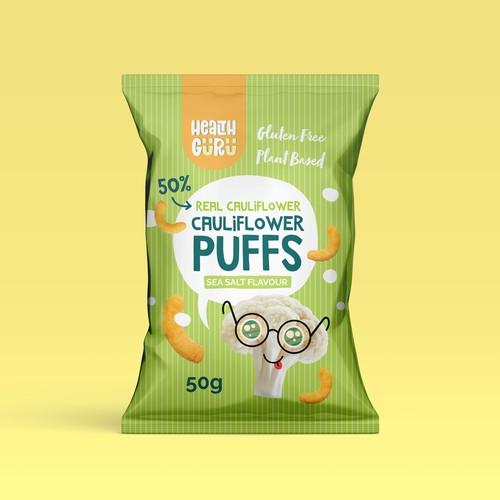 Health Guru - Cauliflower Puffs