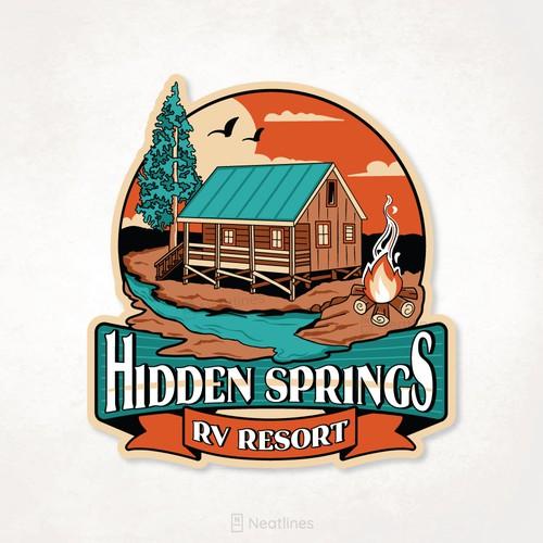 Hidden Springs Tee