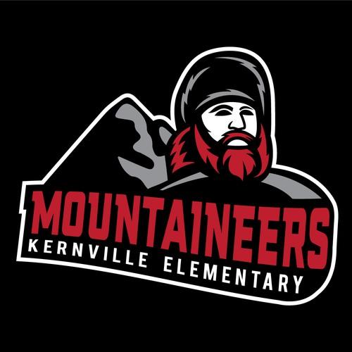 Kernville Elementary Mountaineers Logo