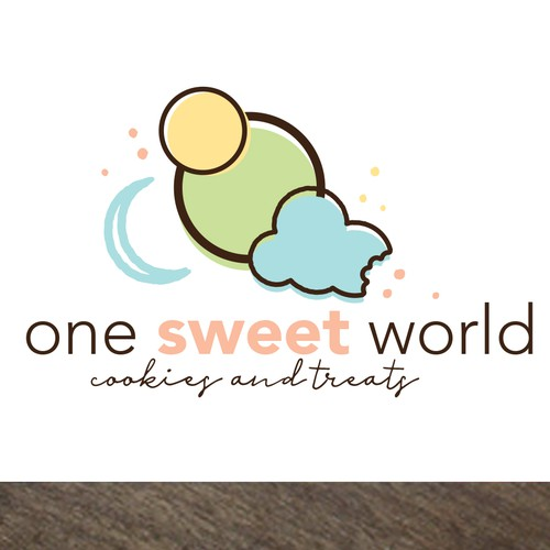 "LOGO STILL AVAILABLE: ""One Sweet World is my little space in the universe that is just for me"""