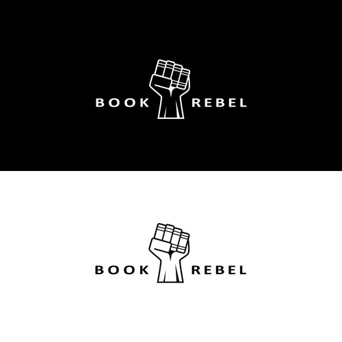 Logo Concept for Book Rebel