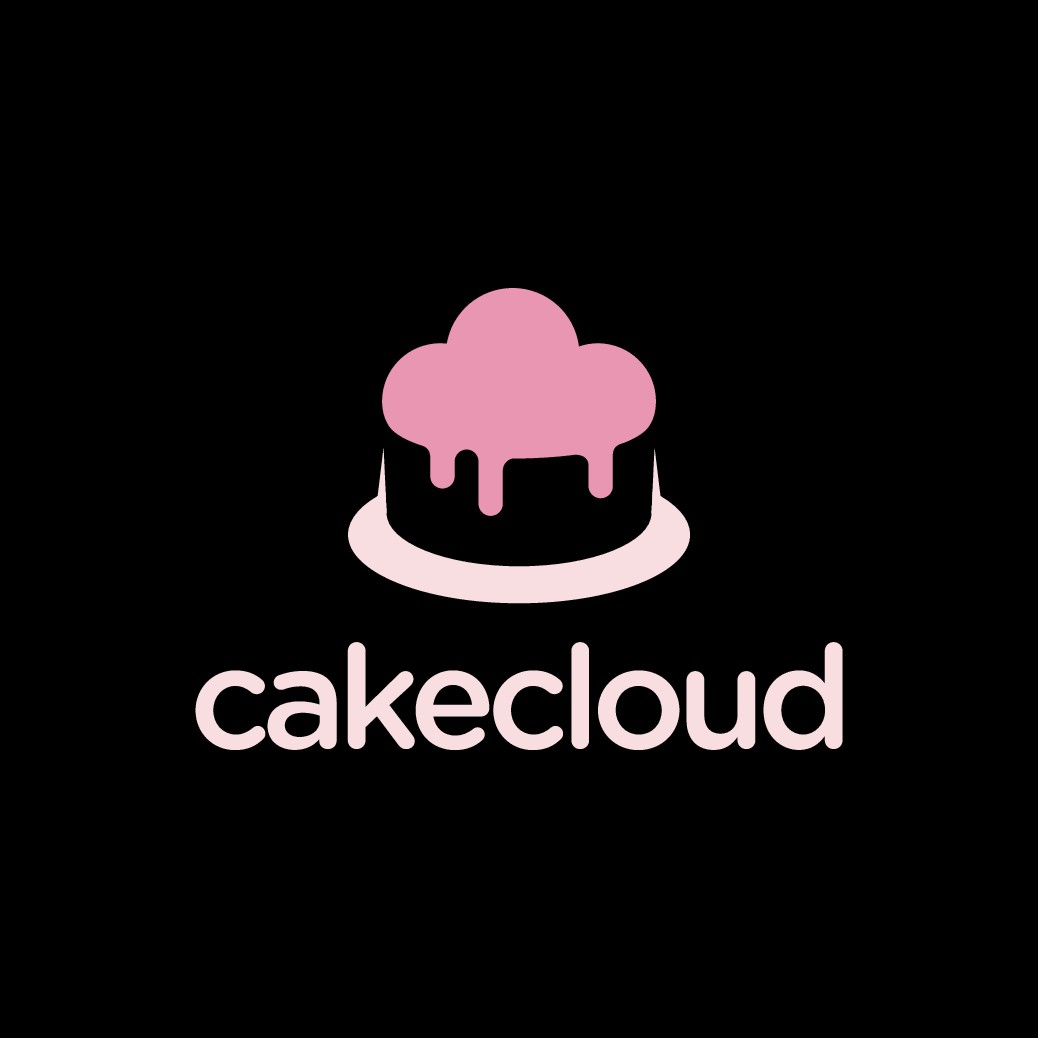 Create a modern logo for an online cake delivery business.