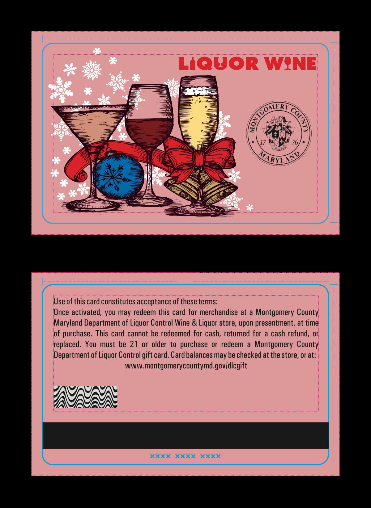 """Happy Holidays"" card design"