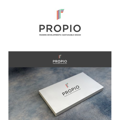Create an brand identity for a modern high quality property developer