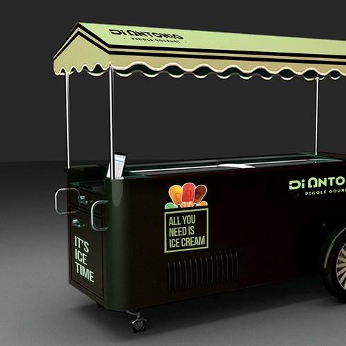 customize ice cream cars for Di Antonio Gourmet