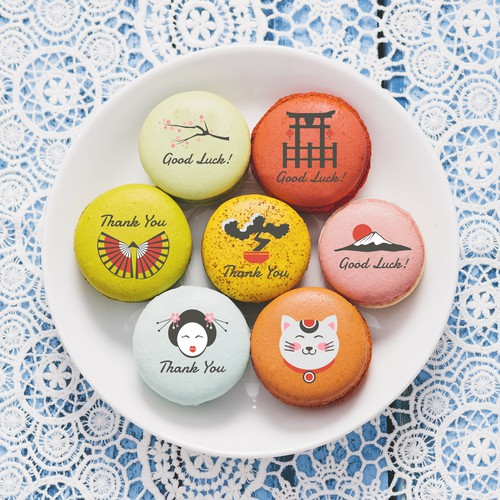 cute design for macaroons