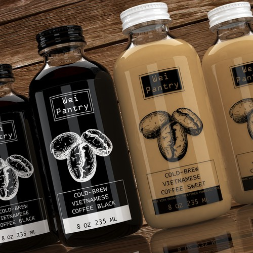 Vietnamese Cold Brew Coffee Design