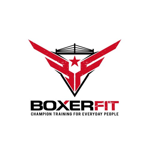 Boxer Fit Personal Training Logo Design