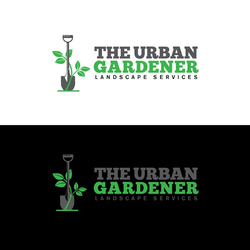 Bold Logo for San Francisco Landscape Services.