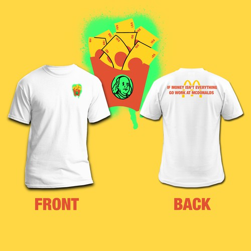 McDonalds TShirt design